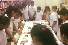 A atenção das crianças a cada etapa do processo de criação do livro na Escola ANNE SULLIVAN – SP