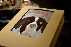 Foto do livro em sua caixa