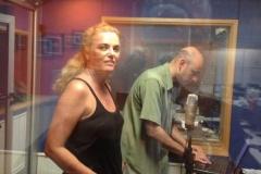 Gravaçao de spot para radio!!! A locutora WALQUIRIA BRITO, e o locutor MARCELO ABUD