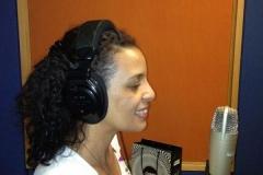 A locutora WALKÍRIA BRITO, fazendo brilhantemente a voz de Missy, para veiculaçao de spot para a radio WEB MALAVEIA. Projeto HISTORIA DE MISSY.
