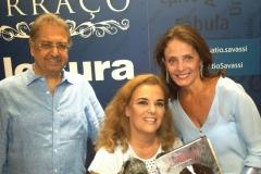 Meus grandes e queridos amigos, Marco Aurélio e Cristina!! Amei estar com vocês!! No lançamento do livro em Belo Horizonte, livraria Cultura – Pátio Savassi