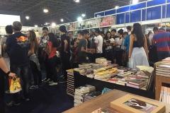 Vista do evento a Bienal de São Paulo no Stand da Leitura